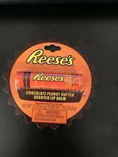 LOTTA LUV* Lip Balm REESE'S Gloss/Balm CHOCOLATE FLAVORED (carded) NEW!