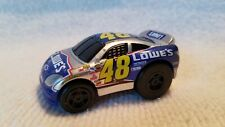 Hot Wheels Pull Back 48 Lowe's Jimmie Johnson NASCAR Toy Mini Car