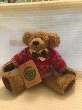 "Boyds ""Geraldo"" Posable 8"" Posable Teddy Bear"