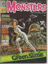 Warren Famous Monsters Of Filmland #57 The Green Slime Space Horror