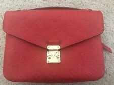 Auth Louis Vuitton Empreinte Pochette Metis 2way Handbag M41488 Cerises /59032