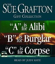 Kinsey Millhone Mystery: Sue Grafton ABC Gift Collection : A Is for Alibi; B...