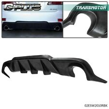 Rear Bumper Lip Diffuser Air Spoiler For 2006-2013 Lexus Is250 Is350 Dmr Style