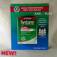 30 ml Systane ULTRA Lubricant Eye Drops 3 x 10 ML Bottles