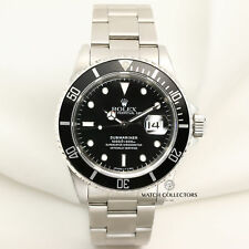 Rolex Submariner Date Pre-Ceramic 16610 Steel