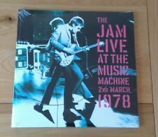 The Jam Live At The Music Machine Euro 2LP Sealed New Wave Mod Punk Rock