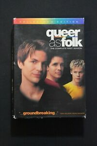 Queer as Folk - The Complete First Season (DVD, 2002, 6-Disc Set, Gift Box...