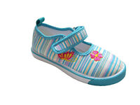 GIRLS KIDS CHILDRENS SHOES TRAINERS CASUAL CANVAS PUMPS SIZE 8 8.5 9 10 11 12