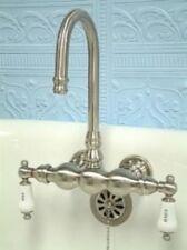 New Clawfoot Tub Faucet Satin Nickel  CC3T8