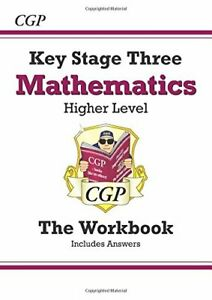 KS3 Maths Workbook (with answers) - Higher: perfect fo... by CGP Books Paperback
