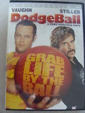 DodgeBall DVD 2004 Vince Vaugn Ben Stiller  PG-13 Sports Widescreen