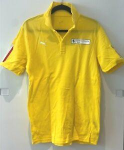 Corso Pilota Sport by Puma polo shirt in yellow-Medium