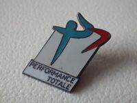 Pin's vintage Collector épinglette publicitaire performance TOTALE Lot L115