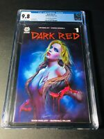 Dark Red #1 Anniversary Exclusive Shannon Maer Trade Variant CGC 9.8 NM/MT 🔥🔥