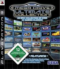 Playstation 3 SEGA MEGA DRIVE Ultimate COLLECTION 40 SPIELE GuterZust.