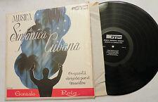 LP, Musica Sinfonica Cubana, Orquesta cond by Gonzalo Roig, SR, Maype, VG++