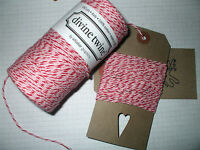 10 or 45 mts assorted Shimmer//glitter Bakers twine in 5 mt  lengths Christmas