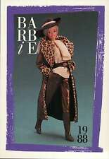 """Barbie Collectible Fashion Card """" Barbie Citystyle Fashions """" 1988"""