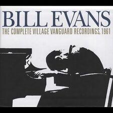 BiLl Evans The Complete Village Vanguard Recordings Box Set 3 Discs Riverside