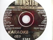 Monster Hits Karaoke CD+G vol-1103/ Destiny's Child,Madonna,Leann Rimes,Pink+