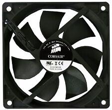 Corsair 12 cm 120 mm Negro Fan Cooler refrigeración de computadora PC caso 3 Pin