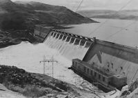 Grand Coulee DAM for Lake River Canyon - HO Scale 1:87 - CUSTOM SIZES AVAILABLE!