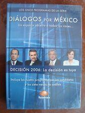 AMLO DIALOGOS POR MEXICO 3 DVD´s SERIE COMPLETA ANDRES MANUEL LOPEZ OBRADOR PEJE