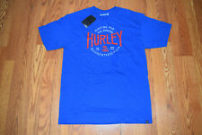 NWT Mens HURLEY Roy Blue Hunting Graphic T-Shirt Size L Large