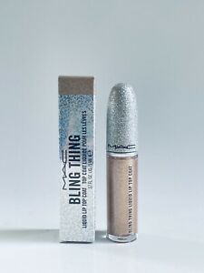 MAC Bling Thing Liquid Lip Top Coat GILT-RIDDEN New In Box 0.17 Oz
