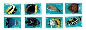Grenadines 1997  - Fish Definitives  - Set of eight  - MNH