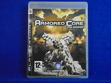 *ps3 ARMORED CORE FOR ANSWER (NI) Epic Action Gameplay PAL UK REGION FREE