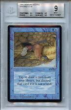 MTG Arabian Nights Sindbad BGS 9.0(9) Mint Magic Card WOTC 0997