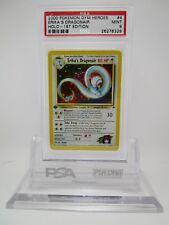 PSA 9 MINT Erika's Gym Dragonair Gym Heroes 1st Edition Pokemon Card 4/132   M10
