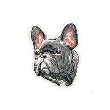 Grumpy Grey French Bulldog (Iron On)