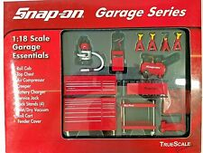 New Listing1:18 13 Pieces Snap On Garage Essentials Shop Equipment Tool Accessory Set New