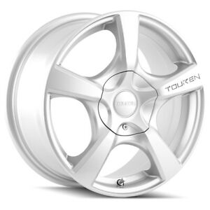 "Touren TR9 17x7 5x5"" +42mm Silver Wheel Rim 17"" Inch"