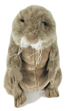 "Ganz Webkinz Prairie Dog HM479 Plush Stuffed Animal No Code Toy 9"" Brown Tan"