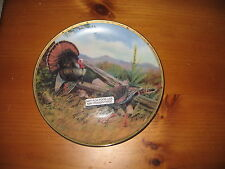 "Owen J. Gromme 8"" Collector Plate , A Long Courtship"