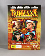 "BONANZA ""10 CLASSIC BONANZA EPISODES"" (4 DISC DVD SET) NEW/NOT SEALED - PAL"
