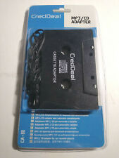 Mp3/Cd Adapter for Car Cassette Player Aux Compatible with 3.5mm Jack Audio