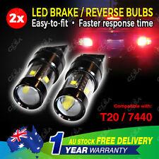 2 PCS LED T20 7440 12V 60W Car Brake Reverse Turn Signal Bulb Light Tail Globe