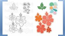 Heartfelt Creations Stamp & Die Combo TROPICAL HIBISCUS ~Under The Sea ~3736,796