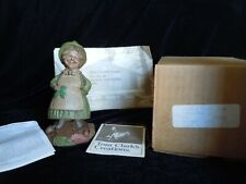 "Tom Clark Gnome ""Colleen"" #1178 Figure with Shamrock #27 Mibwt"