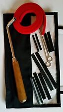 Schaff Professional Quality Piano Tuning Kit 15 Piece Hammer Mutes FREE Case