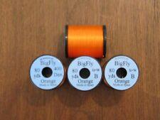 Fly Tying Uni Big Fly Thread- Orange- 80yds.