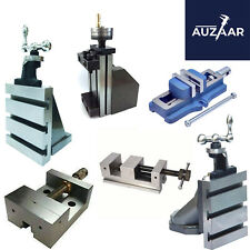 Lathe Vertical Milling Attachments With Self Centering And Grinding Vice Vise