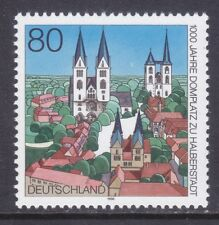 Germany 1919 MNH 1996 Cathedral Square Halberstadt 1000 Anniversary Issue