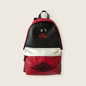 Nike Air Jordan Backpack Mashup Retro 1 Wings One Size NWT Red/Black 9A0390-KR5