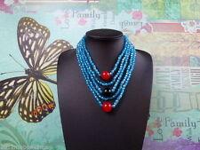 Handgefertigt Modeschmuck-Halsketten & -Anhänger im Collier-Stil mit Cabochon