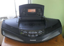 Panasonic RX-ED77 Ghettoblaster.CD Player, Radio-Doppelkassetten-Recorder. Top